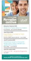 Programme formation continue SFODF 2018